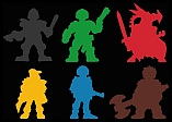 2000 AD Character Meeples